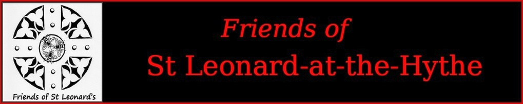 Friends of St Leonard-at-the-Hythe logo